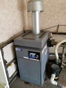 Pool furnace and pump