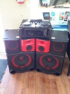 *** USED *** LG ELECTRONICS LG 4400 WATT DJ SYSTEM   S/N:CSRN027830   #STORE219