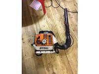 STIHL backpack leaf blower 2 stoke petrol