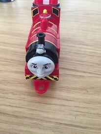 5 X Thomas mega bloks trains