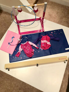 American Girl Gymnastics Set