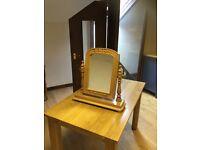 Dressing table mirror, pine.