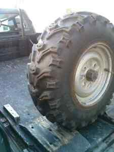 2 Tires for 4 wheeler Honda