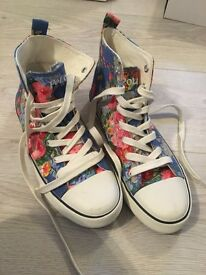 Ralph Lauren trainer shoe