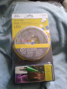 Canarm color changing 3m led strip lighting indoor /outdoor