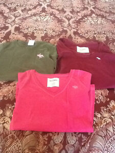Abercrombie & Fitch Girls Size S Shirts - Lot of 3