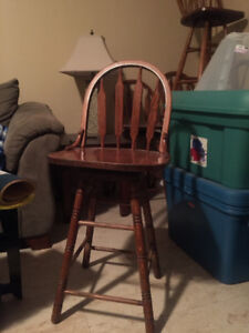 Solid wood bar stools $10 each