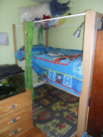 Ikea Tube Frame Kids Loft Bed - Excellent Condition