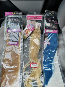 Human Hair Extensions mico-loop and fusion for sale