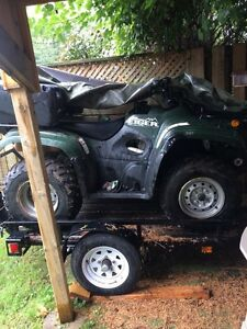 ATV for sale. Comes with plow & more  Cambridge Kitchener Area image 1