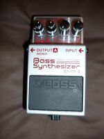 boss pedal synthesizer   syb-3