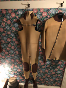 SCUBA custom made Almost Dry Suit