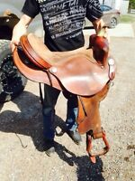 "16"" barrel saddle"