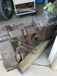 Dodge 4sp and transfer case