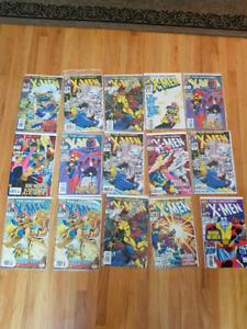 Uncanny X-Men Comics from 1993
