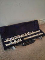 Used Flute With Case