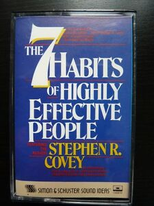 The 7 Habits of Highly Effective People  - Tape Sarnia Sarnia Area image 1