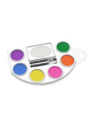Schminkpalette Make-Up Makeup Bodypaint 6 Farben Schminke