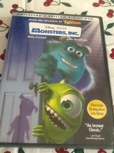 MONSTERS INC 2 DISC DVD