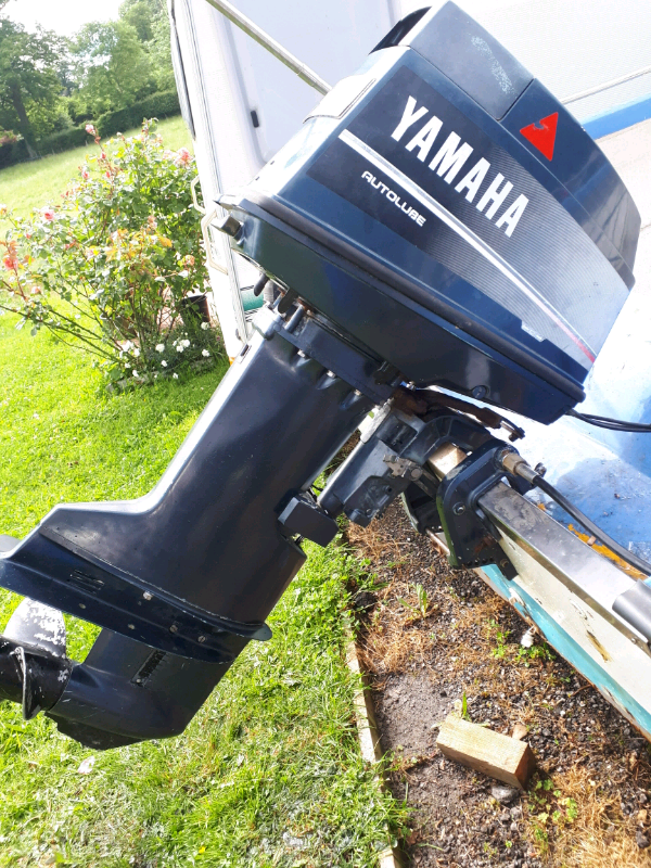 Yamaha 40hp oil injection outboard engine | in Ledbury, Herefordshire |  Gumtree