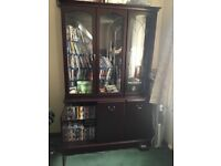 Quality sideboard/ display cabinet.