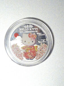 Low mintage Hello Kitty 1oz silver coin  $85.00  403-703-2524