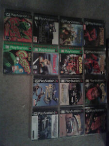 PS1 GAMES IN MINT CONDITION!! OVER 20 GAME TO CHOOSE FROM!!