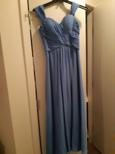 Full Length Bill Levkoff A-line Gown