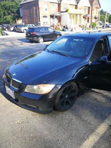 2006 BMW 325i lowered ..manual tranny (stick shift)