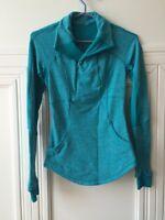 Aqua LULULEMON Shirt