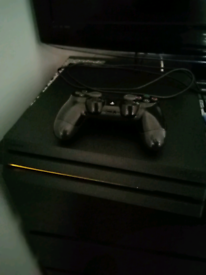 Ps4 pro with call of duty World War 2