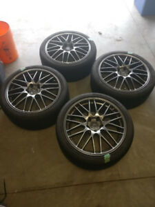 Audi A3/VW Rabbit/GTI summer wheels 18""