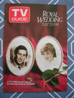 Booklet, Royal Wedding TV Guide Special Feature Insert