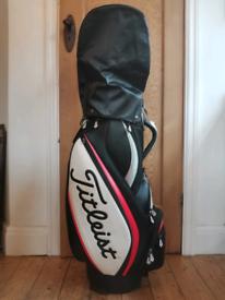 Titleist mid size staff golf bag - cart bag