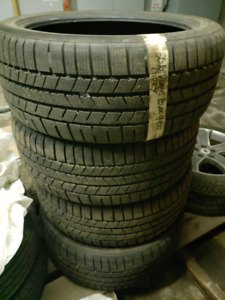 1500$ 2754022 WINTER TIRES CONTINENTAL 9/32