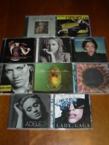 Collection of Female Artists CDs (20)