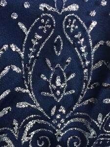 Midnight Blue Jessica Style Cocktail Dress