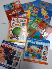 7 x learning books