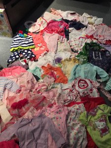 0-9 month girl clothing (100 articles)