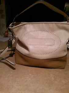 Sacoche coach veritable cuir