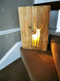 Bespoke Stag Light Box