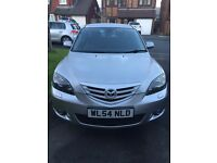 Mazda 3 - 2004 plate, 90000 miles - good condition