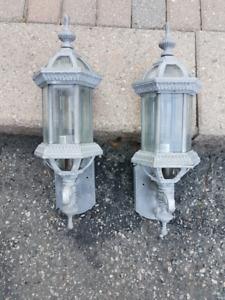 Pewter Exterior Lights