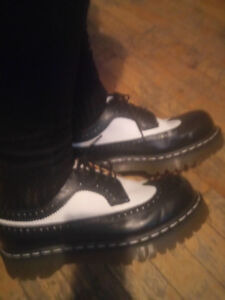 wing tipped Doc Marten's