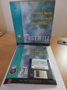 Adobe PageMill Version 1.0