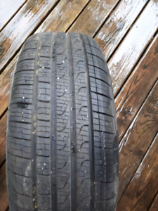 4 RUN FLAT all seasons pirelli p7 tires 195/55r16