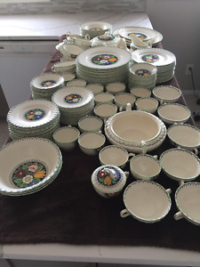 Extensive Collection of Dinnerware