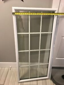 Glass Insert for Steel door 24x48