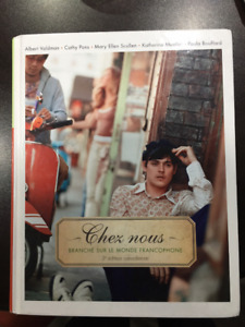 Chez Nous (2 books: French university Textbook and Workbook)