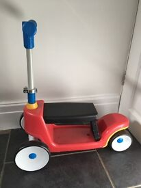 Little tikes sit and ride scooter